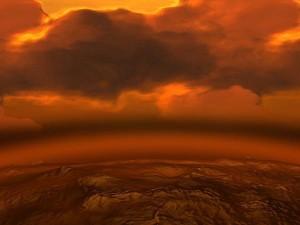 Andrúmsloftið á Venus